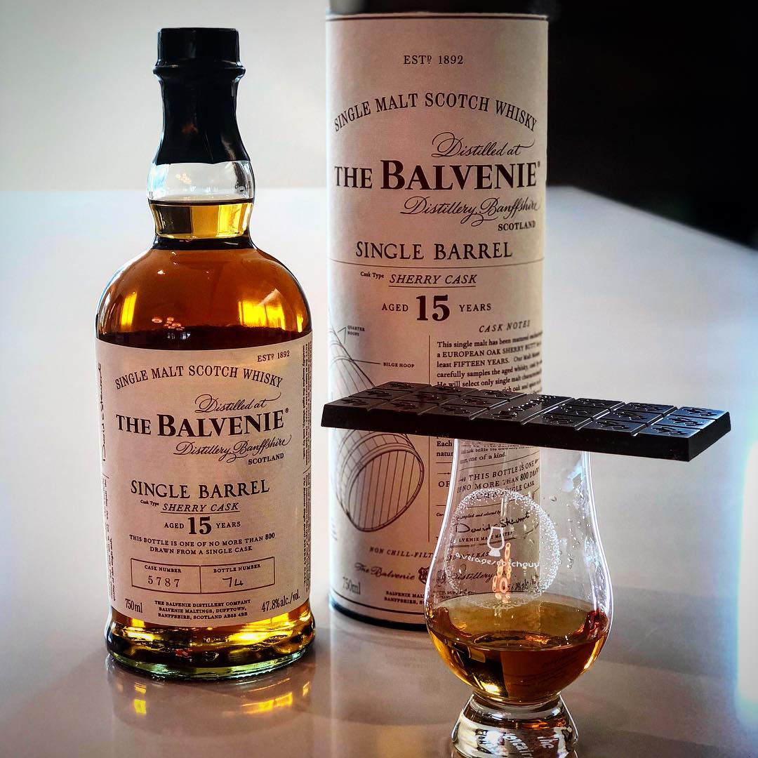 India + Balvenie 15 Sherry